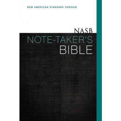 NASB Note-Taker's Bible Hardback
