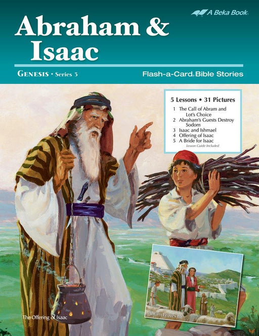 Abraham and Isaac Flash-A-Card Bible Stories - Book Format