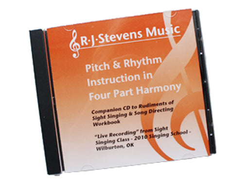 Pitch And Rhythm Instruction in Four Part Harmony CD