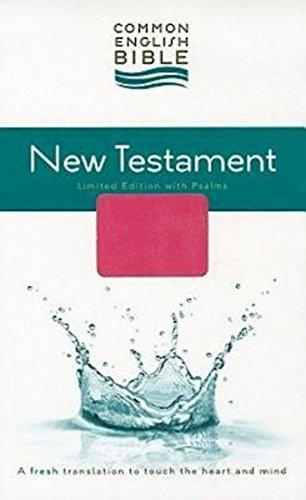 CEB New Testament with Psalms - Pink and Brown