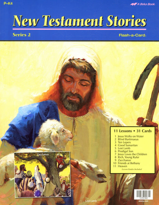 New Testament Stories Series 2 - A Beka Flash-A-Cards