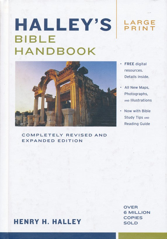 Halley's Bible Handbook Large Print, Revised & Expanded