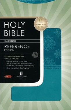 NKJV Reference Bible Turquoise Leathersoft