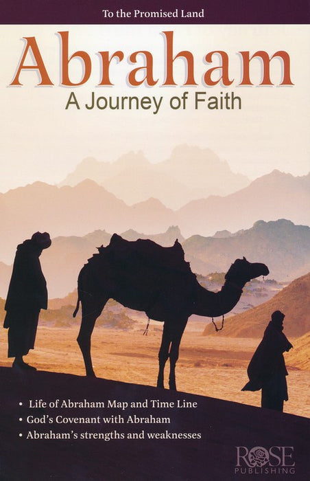 Abraham: A Journey of Faith Pamphlet