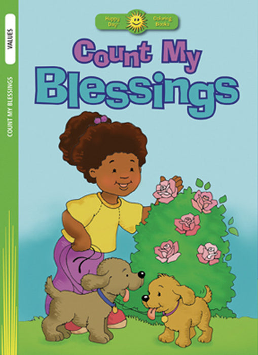 Count My Blessings Coloring Book