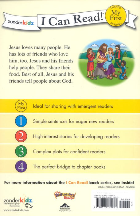 Jesus and His Friends - I Can Read Book