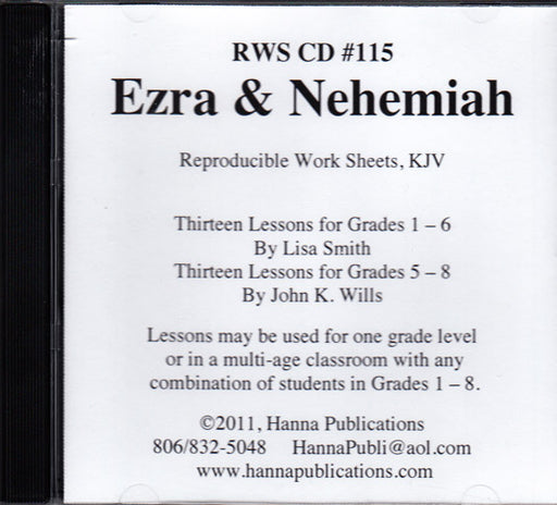 Ezra and Nehemiah CD