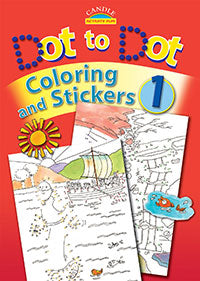 Dot to Dot Coloring and Stickers Volume One