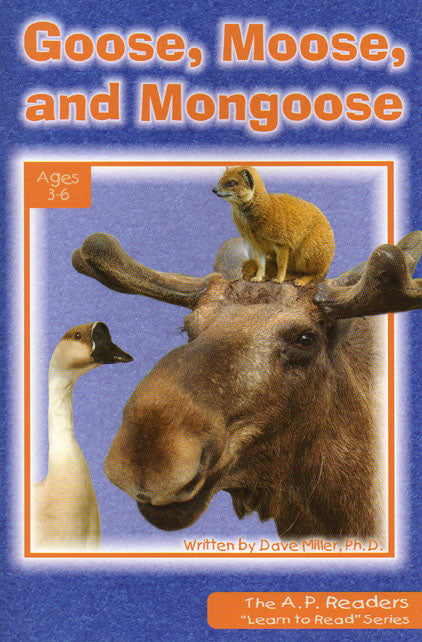 Goose, Moose and Mongoose-Learn to Read