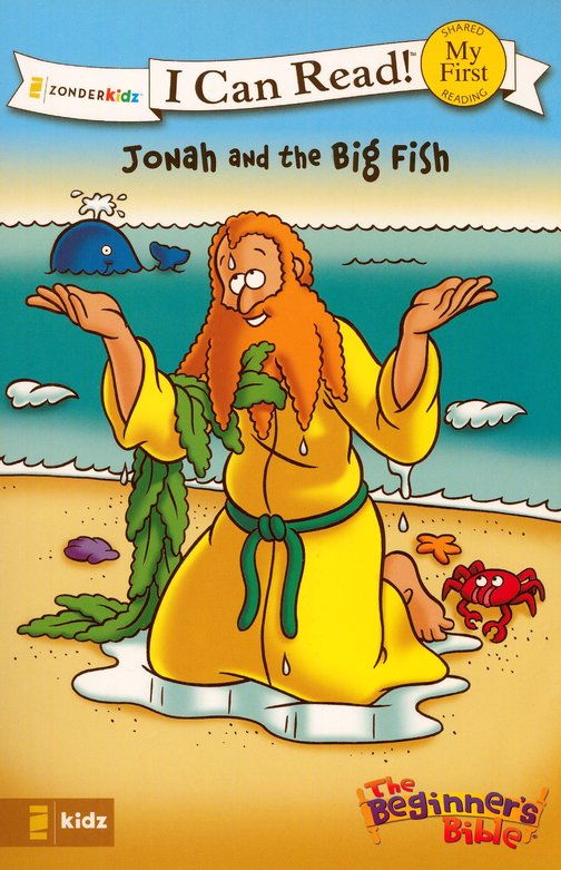 Jonah and the Big Fish - I Can Read! Book