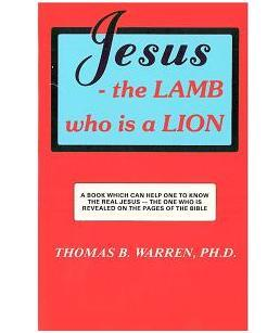 Jesus - The Lamb Who Is A Lion-paperback