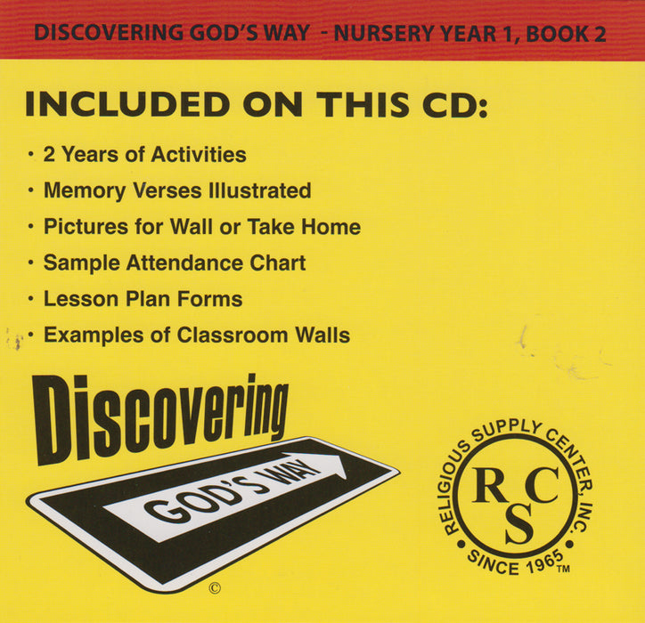 Teacher Resource CD back