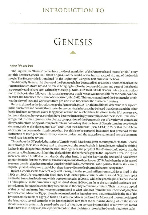 Excerpt: Introduction to Genesis