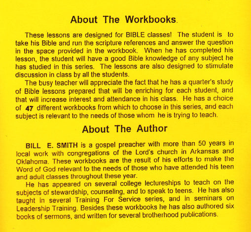About the Workbooks & Author