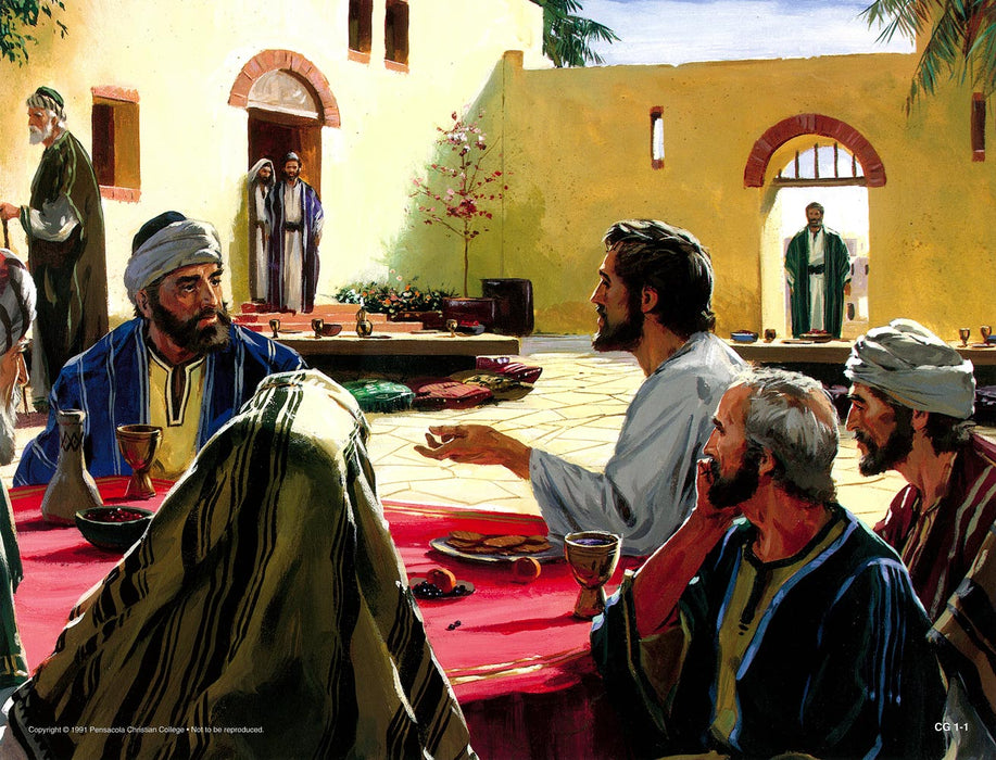 Parables of Jesus 2 Abeka Flash-A-Card