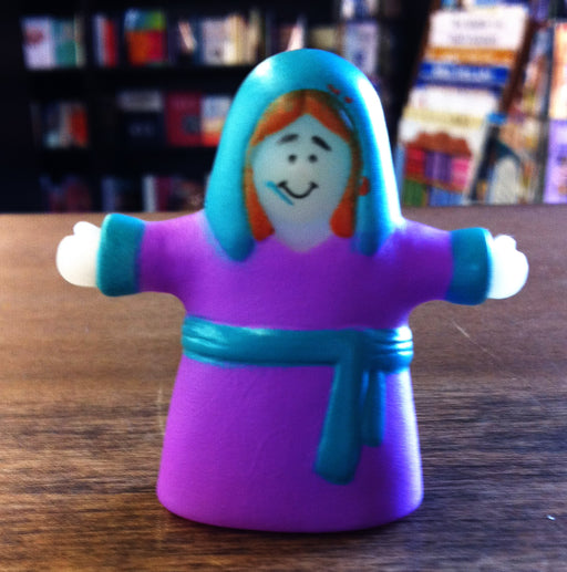Finger Puppet - Woman (Purple)