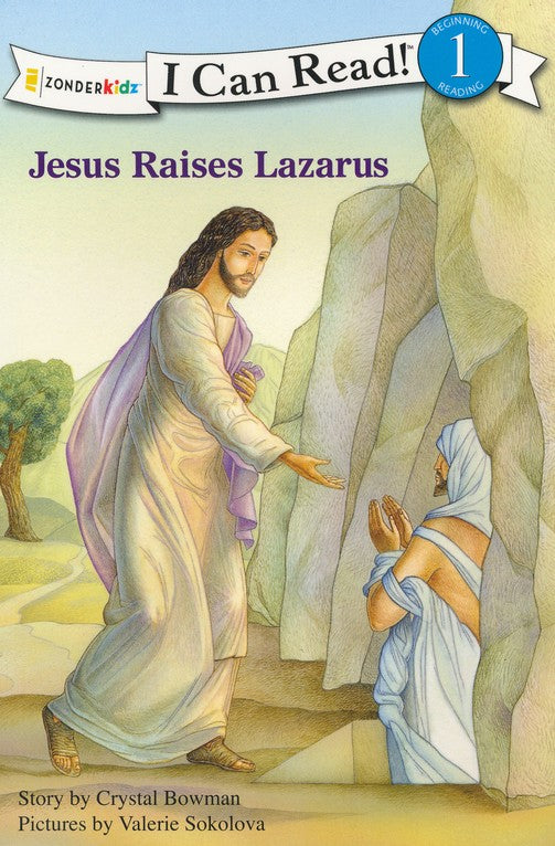 Jesus Raises Lazarus - I Can Read! Book