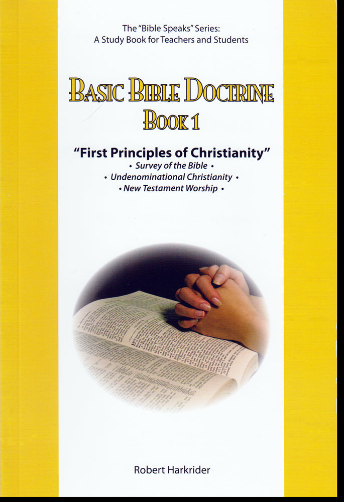 BBD First principles of Christianity