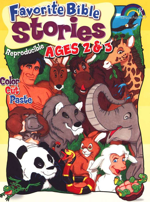 Favorite Bible Stories Ages 2 & 3