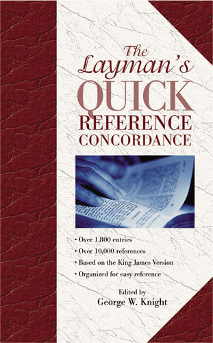 Layman's Quick Refrence Concordance