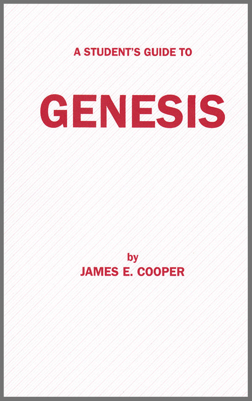 A Student's Guide to Genesis - Cooper