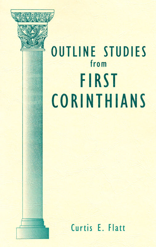 Outline Studies From First Corinthians