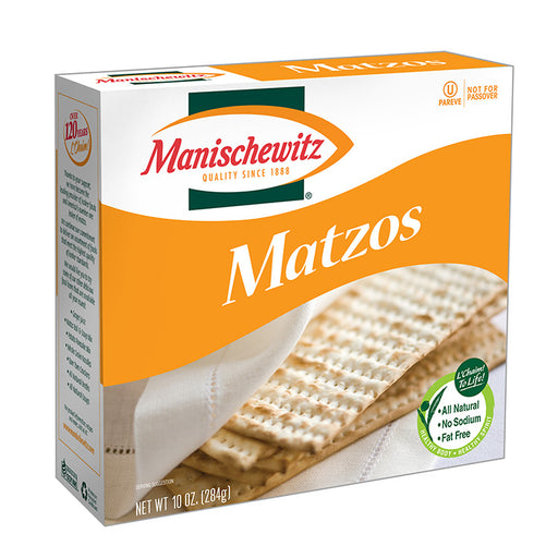 Communion Bread - Unsalted Matzo - Manischewitz
