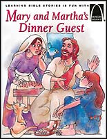 Mary And Martha's Dinner Guest