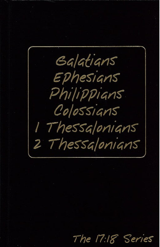 Journible Galatians, Ephesians, Philippians, Colossians, 1 & 2 Thessalonians