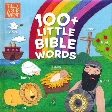 100+ Little Bible Words Padded Board Book