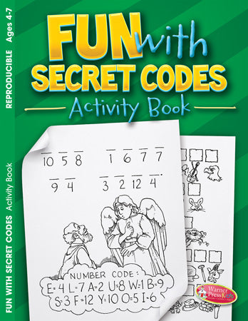 Fun with Secret Codes Activity Book