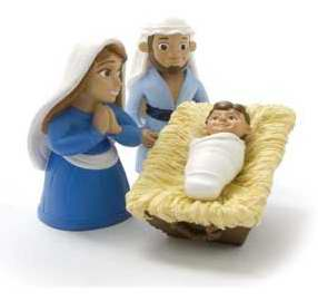 Birth of Baby Jesus Figurine Set - Tales of Glory