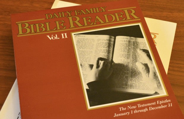 Daily Family Bible Reader Volume 2