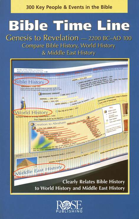 Bible Time Line Pamphlet