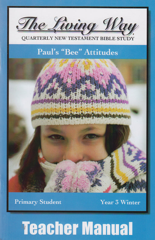 "PRIMARY 3-2 MAN - Paul's ""Bee"" Attitude"