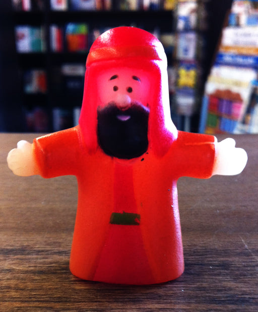 Finger Puppet - Man (Orange)