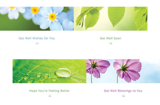 Boxed Cards - Sending You Smiles :) - Get Well