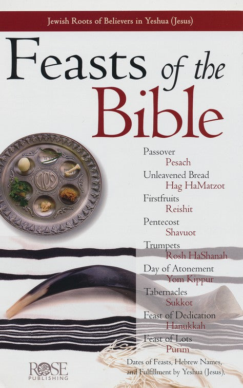 Feasts of the Bible Pamphlet