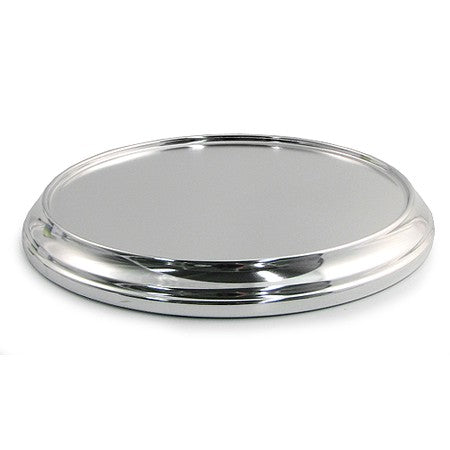 Polished Aluminum Communion Tray Base