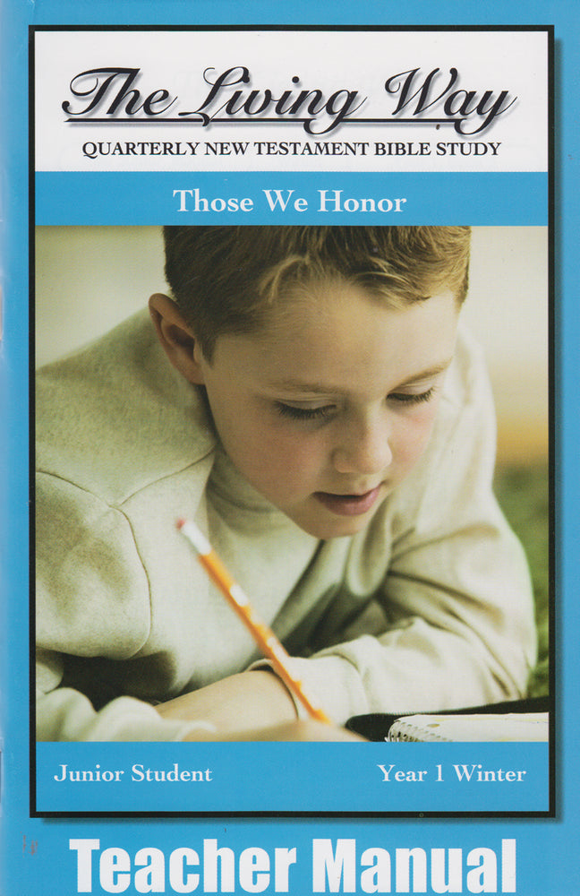 JR 1-2 MAN - Those We Honor