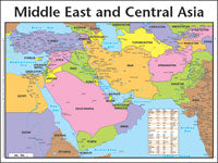 Middle East-Central Asia Laminated