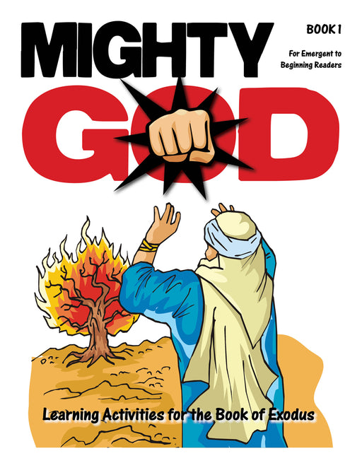 Mighty God God's Mighty Hand Activity Book - Non-Readers
