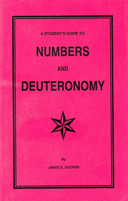A Student's Guilde to Numbers and Deuteronomy