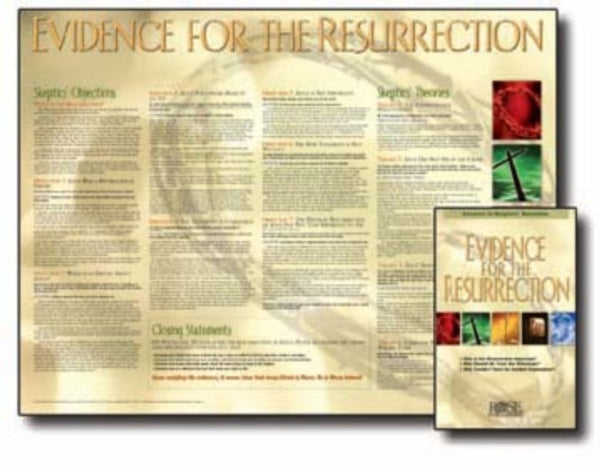Evidence for the Resurrection Wall Chart Laminated