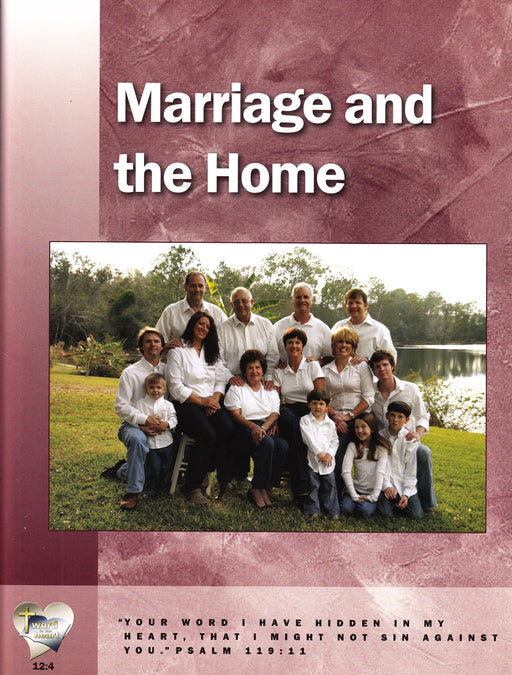 Marriage and the Home (Workbook)