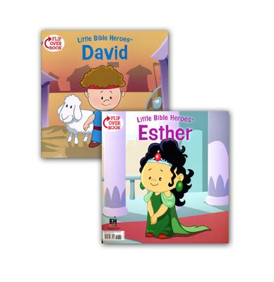 David/Esther Flip-Over Book