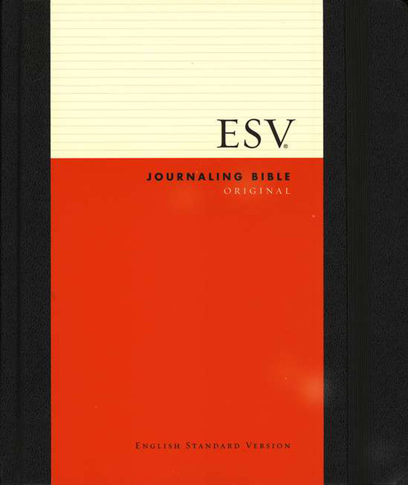 ESV Journaling Bible - Black Hardback