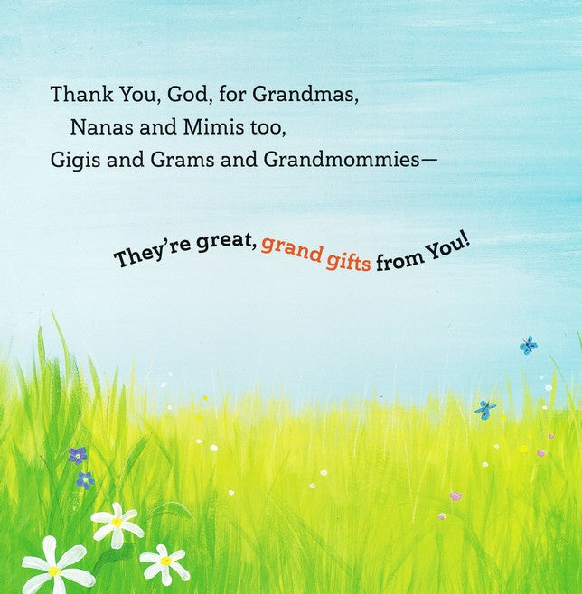 Thank You, God, For Grandma Board Book