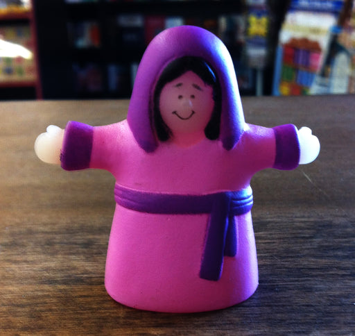 Finger Puppet - Woman (Pink)