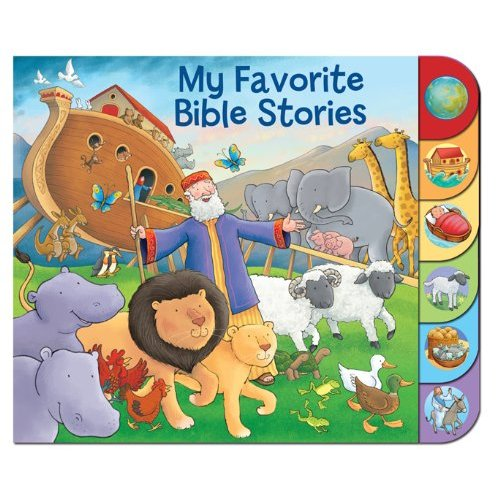 My Favorite Bible Stories Tabbed Board Book